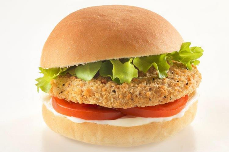 Southern Style Veggie Burger