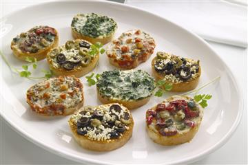 Mediterranean Bruschetta Selection