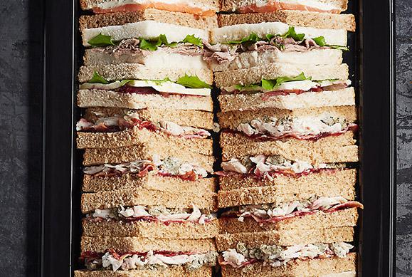 Whole Grain Sandwich Platter