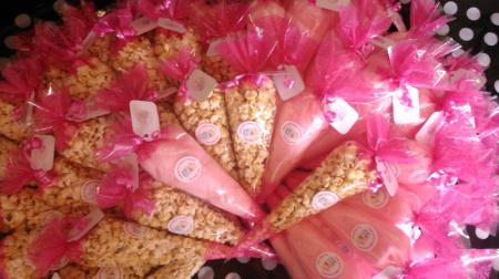 Sweet Cones: Candy Floss/Popcorn/Candy