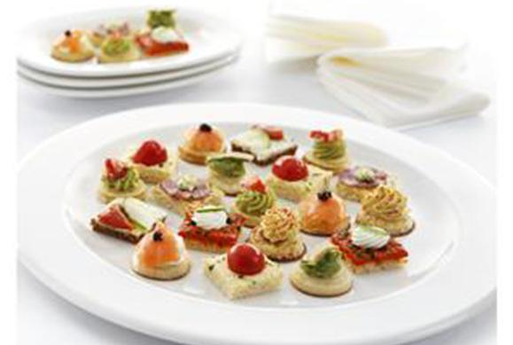 Luxury Canapé Assortment