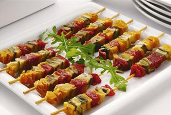 Vegetable Brochettes