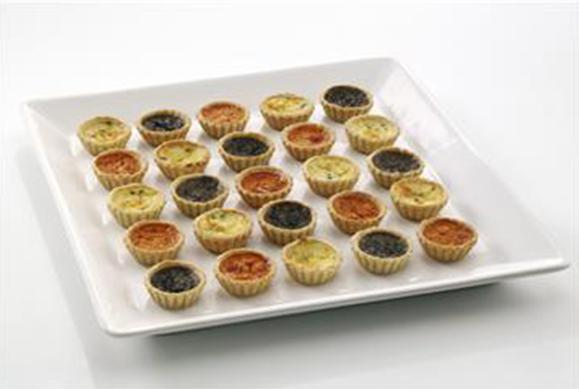 Vegetarian Party Quiche Assortment