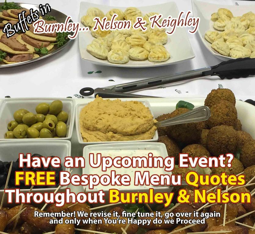 affordable buffet food catering service burnley colne keighley