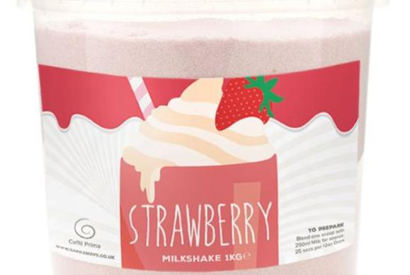 Strawberry Milkshake (1kg - Thick Shake)