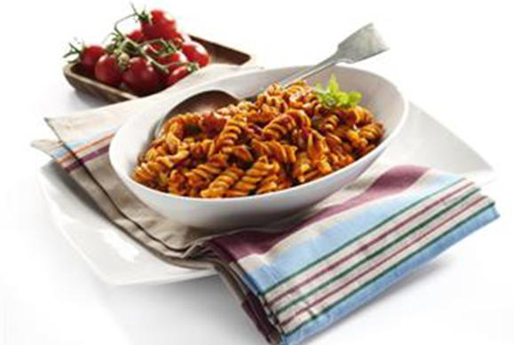 Spicy Tomato Pasta Salad